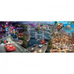 Puzzle  Ravensburger-12645 Disney Cars Panorama