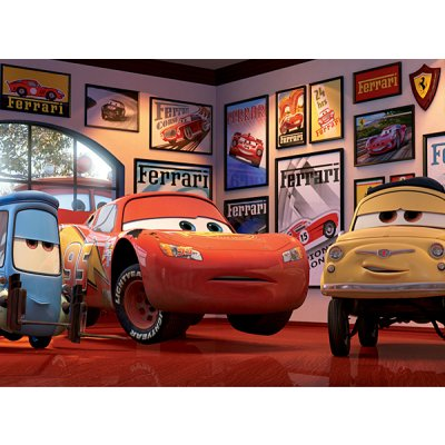 Ravensburger-12781 Puzzle 200 Teile XXL - Cars: Lightning McQueen