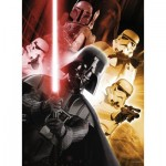 Puzzle  Ravensburger-13702 Color Star Line - Star Wars