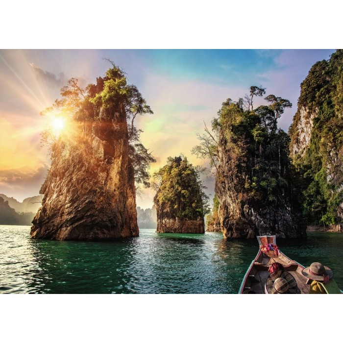 Nature Edition No 15 - Three Rocks in Cheow, Thailand