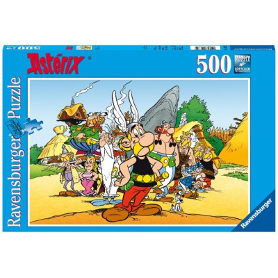 Puzzle Ravensburger-14635 Asterix & Co.