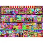 Puzzle  Ravensburger-14653 Aimee Stewart: The Sweet Shop