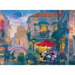 Puzzle  Ravensburger-14725 James Coleman: Mickey in Venedig