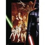 Puzzle  Ravensburger-14766 Star Wars