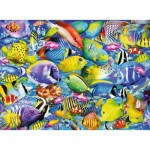 Puzzle  Ravensburger-14796 Tropical Traffic