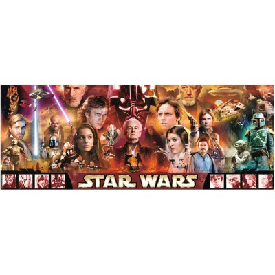 Puzzle Ravensburger-15067 Star Wars Legenden