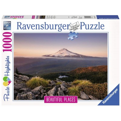 Puzzle Ravensburger-15157 Stratovulkan Mount Hood in Oregon, USA