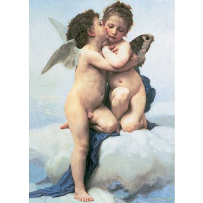 Puzzle Ravensburger-16228 William Bouguereau: Amor und Psyche