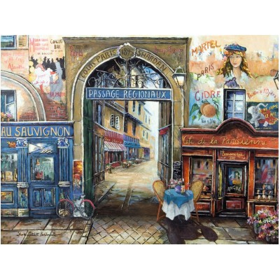 Puzzle Ravensburger-16241 Passage to Paris