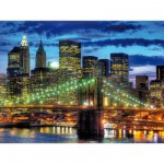 Puzzle  Ravensburger-16272 Skyline New York City