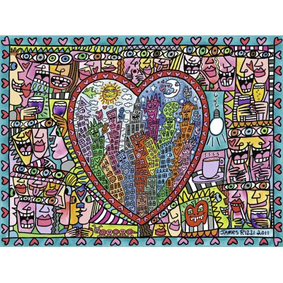 Puzzle Ravensburger-16295 All that Love