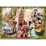 Puzzle  Ravensburger-16505 Vacation Mickey