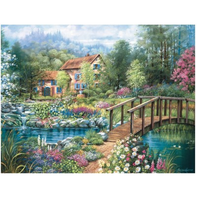 Puzzle Ravensburger-16637 Shades of Summer