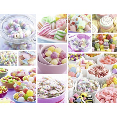 Puzzle Ravensburger-16688 Sweets