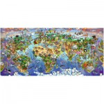 Puzzle  Ravensburger-16698 World Wonders