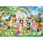 Puzzle  Ravensburger-19019 Mickey's Birthday