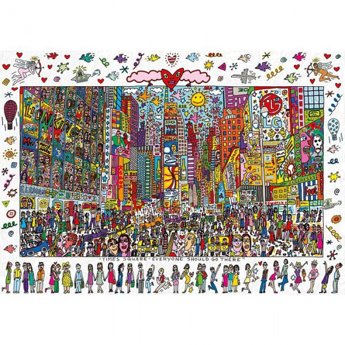 James Rizzi: Times Square - Everyone should go there