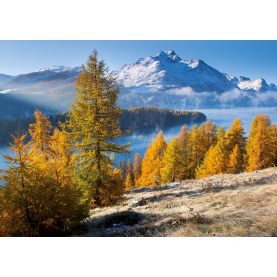 Puzzle Ravensburger-19099 Silsersee