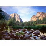 Puzzle  Ravensburger-19206 Yosemite Valley