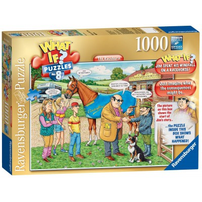 Ravensburger-19438 What If ? Puzzle Nr. 8 - The Racehorse