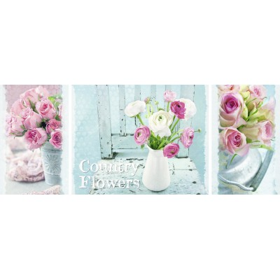 Puzzle Ravensburger-19487 Country Flowers