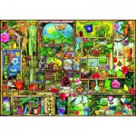Puzzle  Ravensburger-19498 Colin Thompson - The Gardener's Cupboard