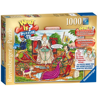 Ravensburger-19512 What If ? Puzzle Nr. 11 - Elizabeth and Raleigh