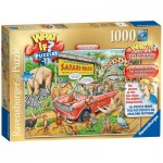Ravensburger-19550 What If ? Puzzle Nr. 13 - The Safari Park