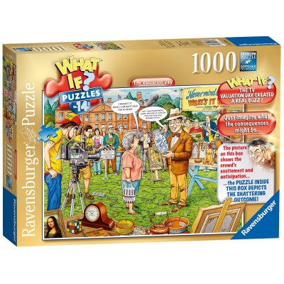 Ravensburger-19585 What If ? Puzzle Nr. 14 - The Valuation Day