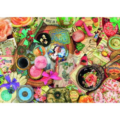 Puzzle Ravensburger-19586 Vintage Collage