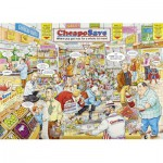 Puzzle  Ravensburger-19587 Best of British - The Supermarket