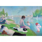 Puzzle  Ravensburger-19594 The National Gallery, Seurat