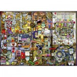 Puzzle  Ravensburger-19597 Colin Thompson: The Inventor's Cupboard