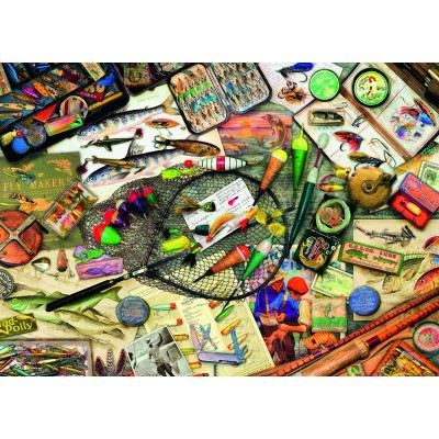 Puzzle Ravensburger-19600 Fishing Fun