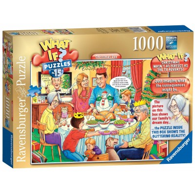 Ravensburger-19657 What If ? Puzzle Nr. 15 - Christmas Day