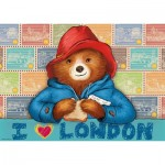 Puzzle  Ravensburger-19696 I love London / Paddington
