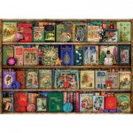 Puzzle  Ravensburger-19801 The Christmas Library