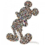 Puzzle   Shaped Mickey