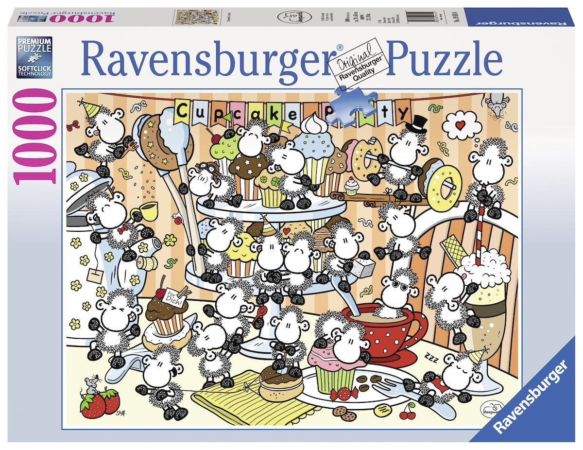 ravensburger puzzle sheepworld