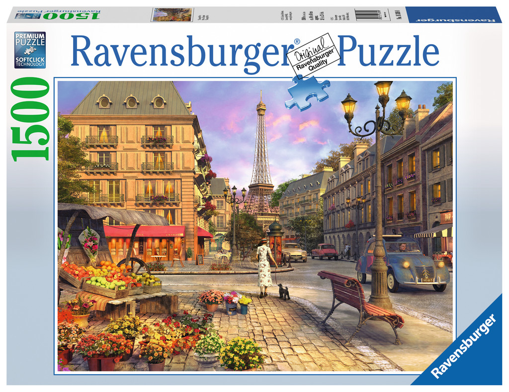 vintage paris 1500 teile ravensburger puzzle online kaufen. Black Bedroom Furniture Sets. Home Design Ideas