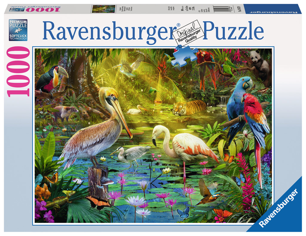vogelparadies 1000 teile ravensburger puzzle online kaufen. Black Bedroom Furniture Sets. Home Design Ideas