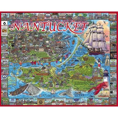 Puzzle White-Mountain-533 Nantucket