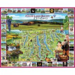 Puzzle  White-Mountain-871 Lake Placid