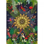 Puzzle  Deico-Games-76427 Nature Collection - Tropical