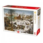 Puzzle  Deico-Games-76649 Brueghel the Elder - The numbering at Bethlehem