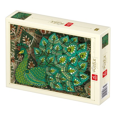 Puzzle Deico-Games-77233 Pattern Peacock