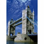 Puzzle  DToys-50328-AB16 Landschaften: Tower Bridge, London