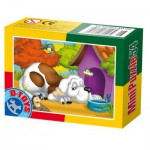 Dtoys-60464-AD-03 Mini Puzzle: Hund