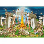 Puzzle  DToys-61218-CC02-(70906) Cartoon Collection: Stonehenge
