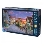 Puzzle  Dtoys-62154-EC17 Rothenburg